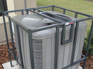 The Patent Pending X90 AC Cage is the best looking, most secure adjustable AC cage on the market