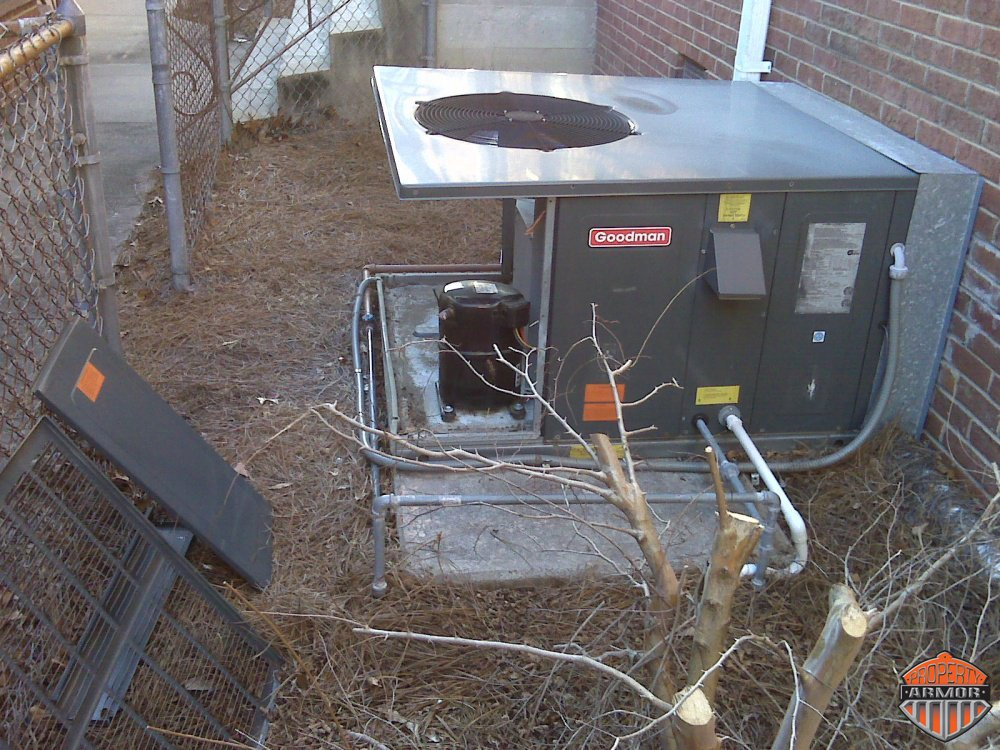 Copper Theft Impacts Property Armor A C Cages