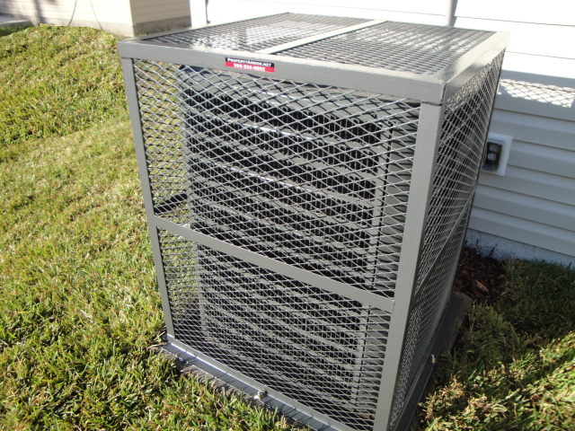 Air Conditioner Security Cage Gallery Many Styles To