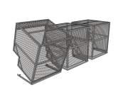 Air Conditioner Cage-CAD-Drawing