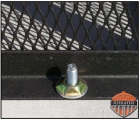 Our optional tamper proof fasteners for the AC Cage