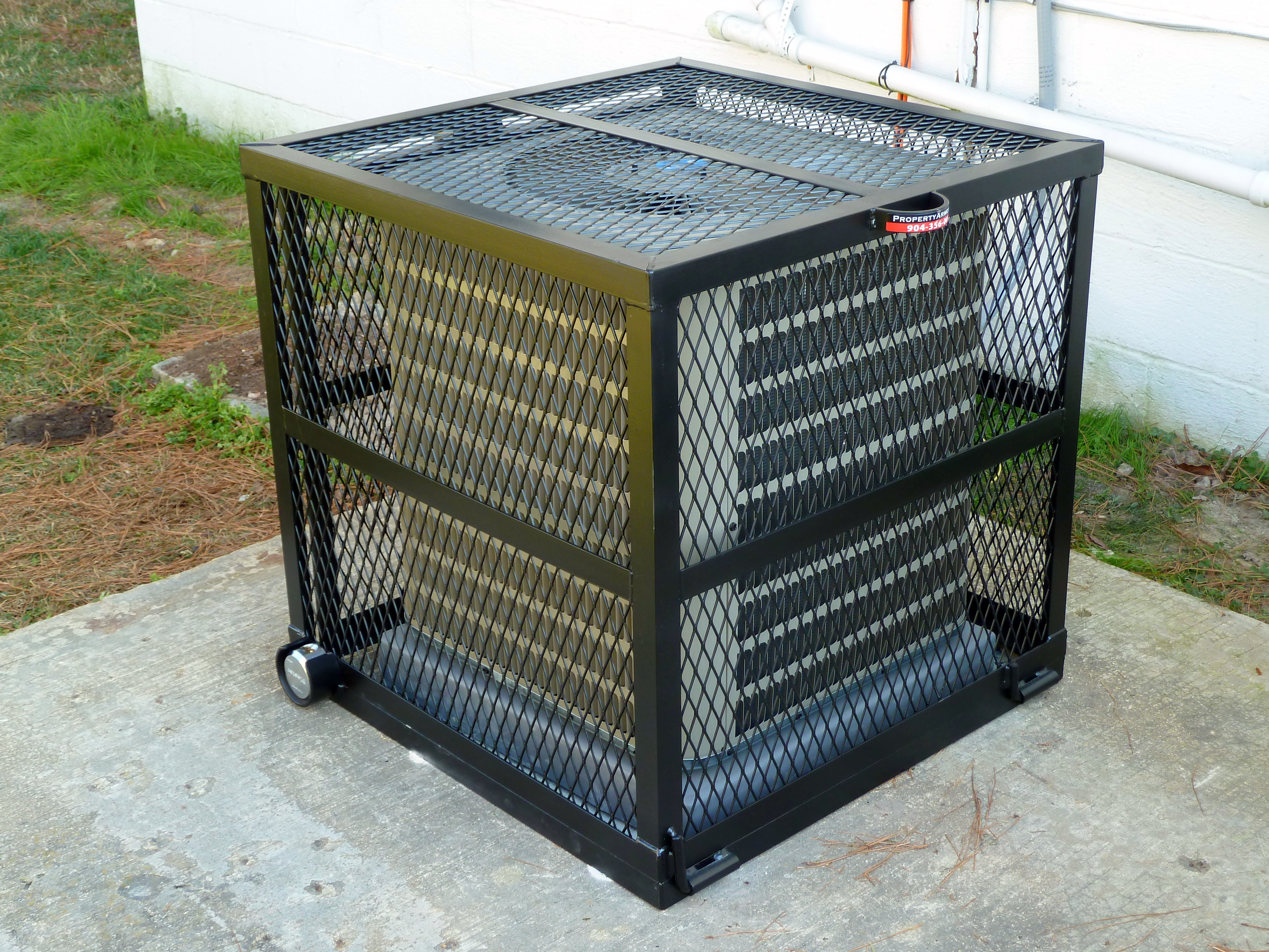 P3 Brawler Ac Cage Pro Series Air Conditioner Cages